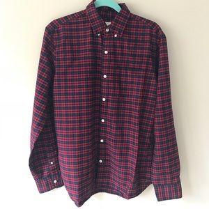 Gap Plaid Oxford Shirt